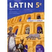 Latin 5e - Manuel �l�ve de Marie Berthelier