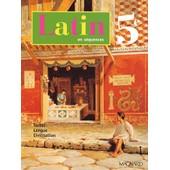 Latin En S�quences 5�me de Pierre Bernet
