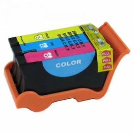 1 Cartouche 3 Couleur G�n�rique Dell Serie 21 22 23 24 Pour Imprimante Dell V313 V313w V515w P513w P713w V715w
