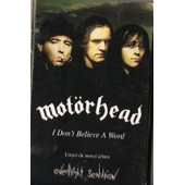 Motorhead - I Don't Believe A Word - K7 Audio Promotionelle 1 Titre