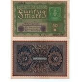 Allemagne - Billet 50 Marks 1919 , Reihe (S�rie) 1