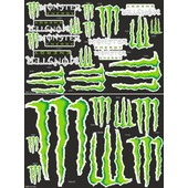 Sticker Moto Autocollant Monster Energy Format 45x34cm