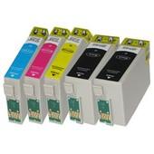 Pack 5 Cartouches G�n�riques Epson T1301 T1302 T1303 T1304 T1306 Sx525 Sx620 Bx525 Bx625 B42 Bx925