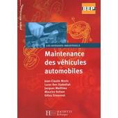 Maintenance Des V�hicules Automobiles Bep de Lazar Ben Djaballah
