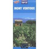 Mont Ventoux - 1/25 000 de Ign