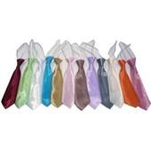 Cravate Enfant, Tissu Organza, Couleur Aux Choix, Pour Enfant De 2 Ans � 12 Ans, Neuve