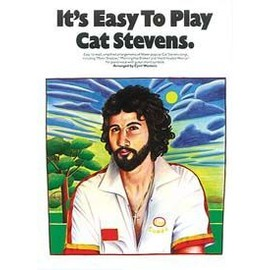 It's Easy To Play Cat Stevens Piano, Vocal & Guitar (with Chord Boxes)