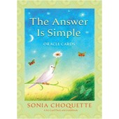 Answer Is Simple Oracle Cards de Choquette