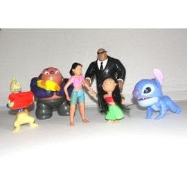 6 Figurines Lilo Et Stich