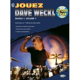 jouez dave weckl - niveau 1 volume 1 - drum tax + cd
