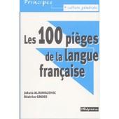 Les 100 Pi�ges De La Langue Fran�aise de Studyrama