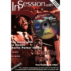 PARKER CHARLIE IN SESSION CD TENOR SAX Bb