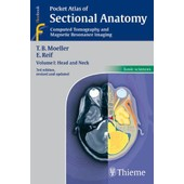 Pocket Atlas Of Sectional Anatomy: Computed Tomography And Magnetic Resonance Imaging: V. 1: Head And Neck de Torsten Bert Moeller