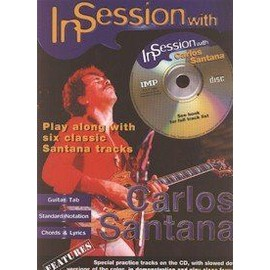 SANTANA CARLOS IN SESSION WITH CD TAB