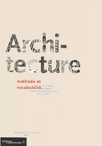 Architecture - Méthode Et Vocabulaire