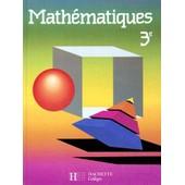 Mathematiques 3eme - Edition 1989 de Robert Delord