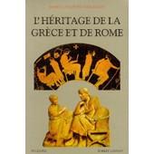 L'h�ritage De La Gr�ce Et De Rome de Moses-I Finley
