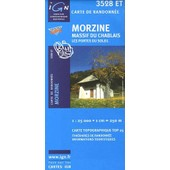 Morzine Massif Du Chablais Les Portes Du Soleil - 1/25 000 de Ign