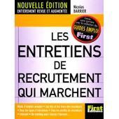 Les Entretiens De Recrutement Qui Marchent - Edition 2001 de Nicolas Barrier