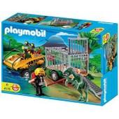 Playmobil 4175 - V�hicule Amphibie Avec Deinonychus