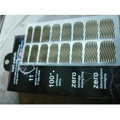 Nail Patch Nail Foil Nail Art M090 Ondulations Noir Et Dor�
