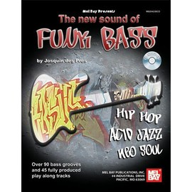 the new sound of funk bass + cd
