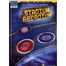 stadium arcadium - special book - bass recorded versions - + 2 cds