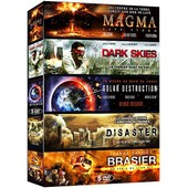 Catastrophe - Coffret 5 Films : Magma + Dark Skies + Solar Destruction + Disaster + Brasier - Pack
