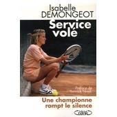 Service Vol� de Isabelle Demongeot