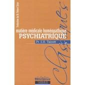 Mati�re M�dicale Hom�opathique Psychiatrique de Selden-Haines Talcott