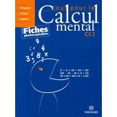 Tout Pour Le Calcul Mental Ce2 - Livre Du Professeur de Denis Balbastre