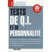 Tests De Q. I. Et De Personnalit� de Philip Carter