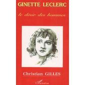 Ginette Leclerc - Le D�sir Des Hommes de Christian Gilles