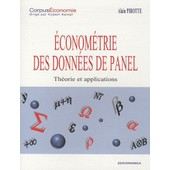 Econom�trie Des Donn�es De Panel - Th�ories Et Applications de Alain Pirotte