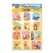 Stickers Alphabet - Winnie L'ourson