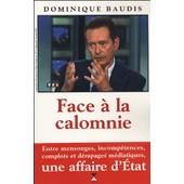Face � La Calomnie de Dominique Baudis