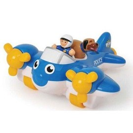 Avion De Police � Friction - Wow Toys