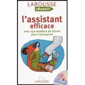 L'assistant Efficace - Avec 250 Mod�les De Lettres Pour L'entreprise (1c�d�rom) de Georges Vivien