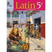 Latin En S�quences 5e - Manuel �l�ve de Pierre Bernet