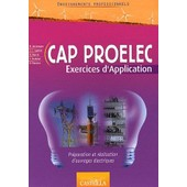 Enseignements Professionnels Cap Proelec - Exercices D'application de M Boudengen