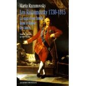 Les Razoumovsky 1730-1815 - La Saga D'une Famille Dans La Russie Des Tsars de Maria Razumovsky
