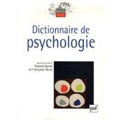 Dictionnaire De Psychologie de Roland Doron