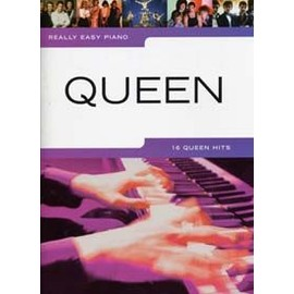 QUEEN REALLY EASY PIANO 16 HITS