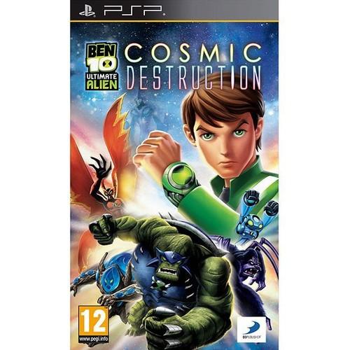 Ben 10 Ultimate Alien - Cosmic Destruction - PSP