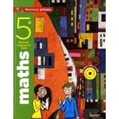 Maths 5e - Nouveau Programme 2009 (1c�d�rom) de Nadine Jacob