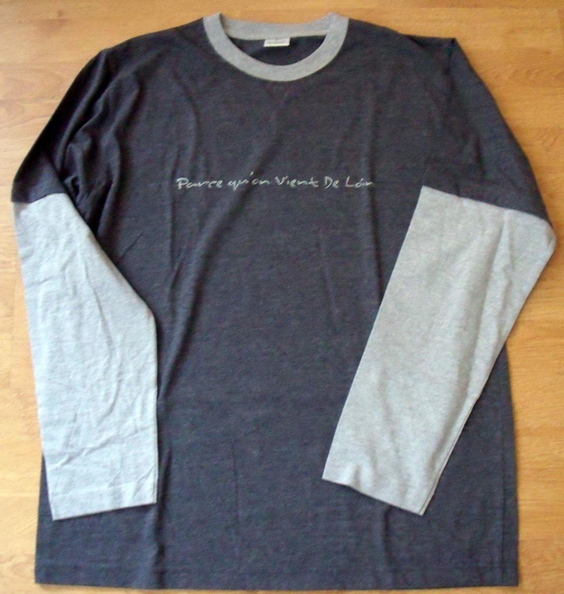 T-shirt officiel Corneille manches longues bicolore T. L