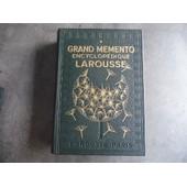Grand M�mento Encyclop�dique Larousse. Tome Premier Et Second de Paul Auge
