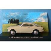 Alfa Romeo Giulietta Sprint 1959 Edison 1/43 Serie Oro