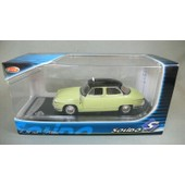 Panhard Pl17 Taxi De 1961 Bicolore Solido 1/43