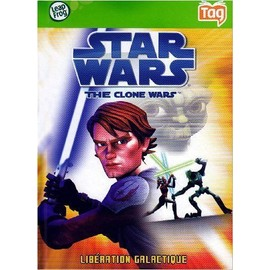 Leapfrog - Tag - Livre : Star Wars - Clone Wars Lucasfilms